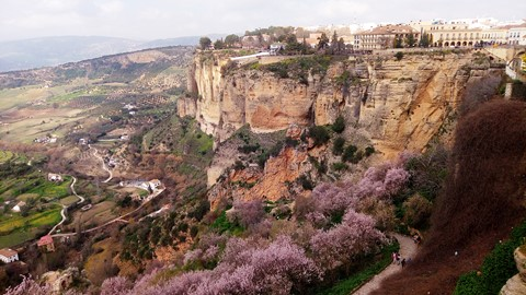 ronda village spain independent walking trail